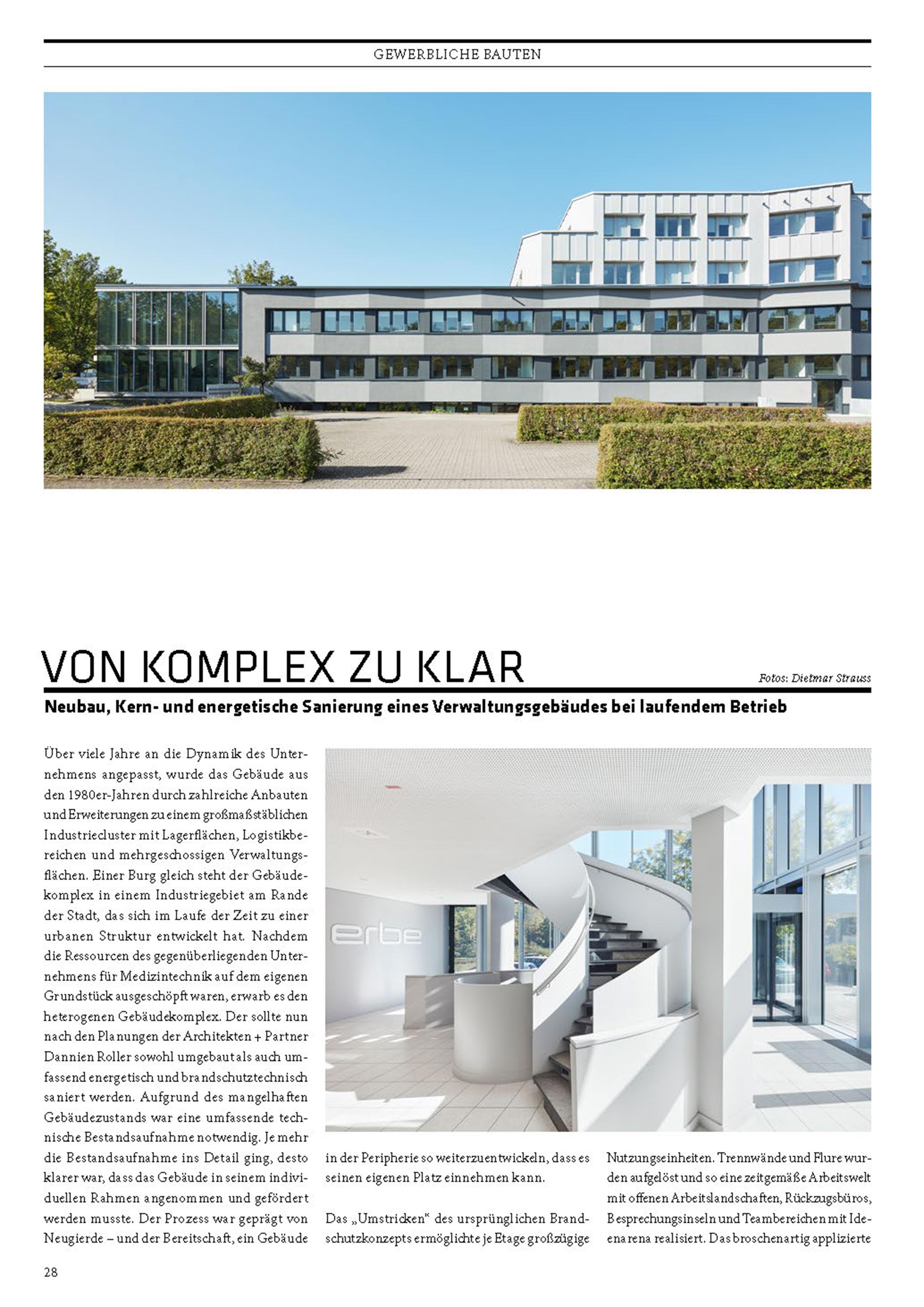 Verwaltungs- und Forschungsgebäude in der Architekturzeitschift Cube veröffentlicht ({project_images:field_row_count})