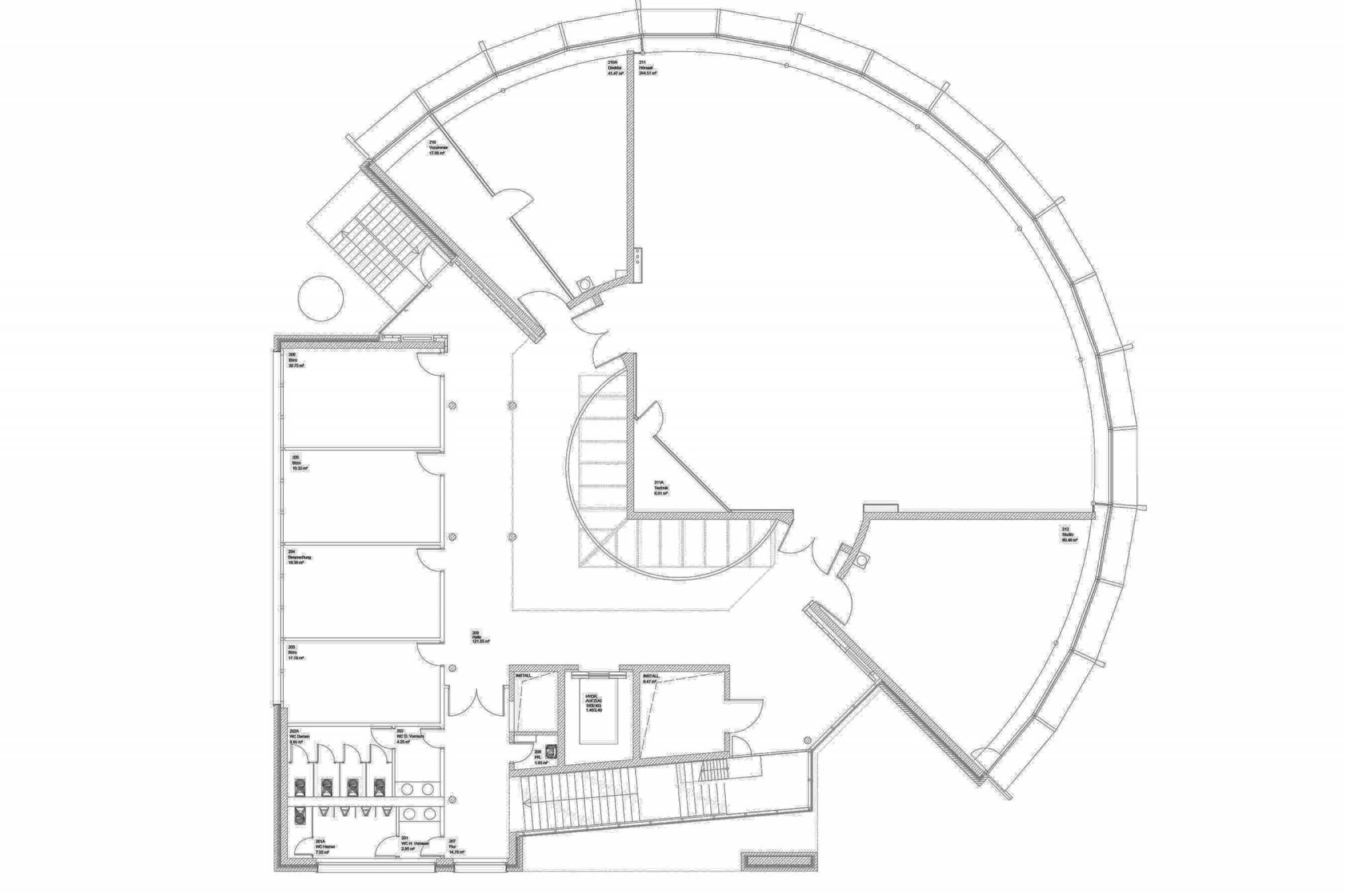 Pünktlich zum Semesterbeginn wurde die Sanierung Hörsaal fertig gestellt ({project_images:field_row_count})