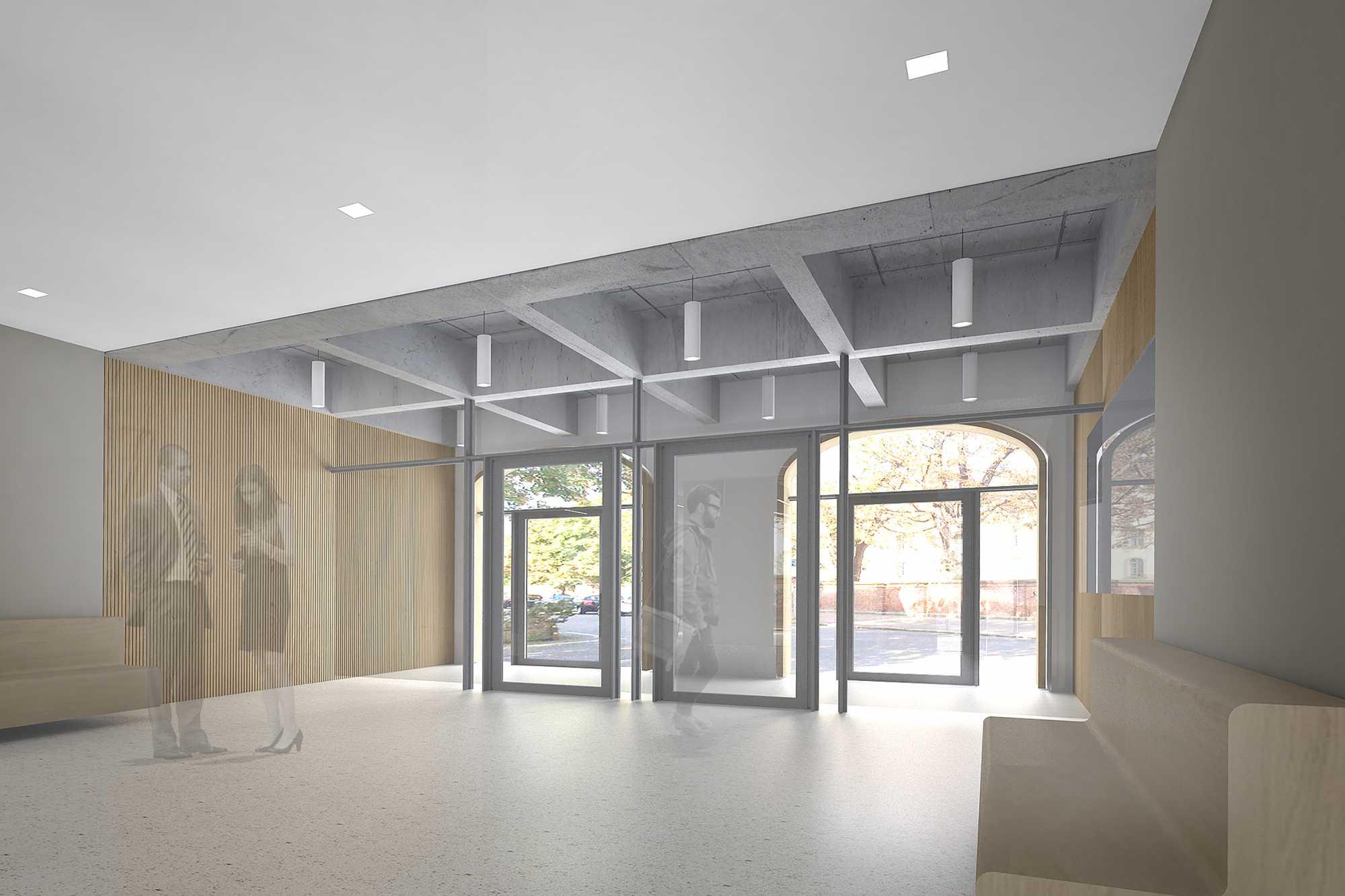 Baurechtliche Abnahme für das Projekt Amts- Nachlass- und Betreuungsgericht in der Schellingstrasse ({project_images:field_row_count})