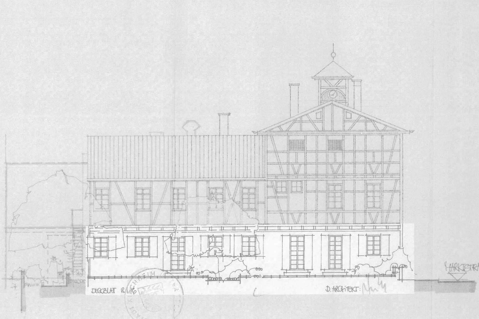 Denkmalpflegerische Sanierung Altes Wachthaus – Zuschlag im VgV-Verfahren ({project_images:field_row_count})