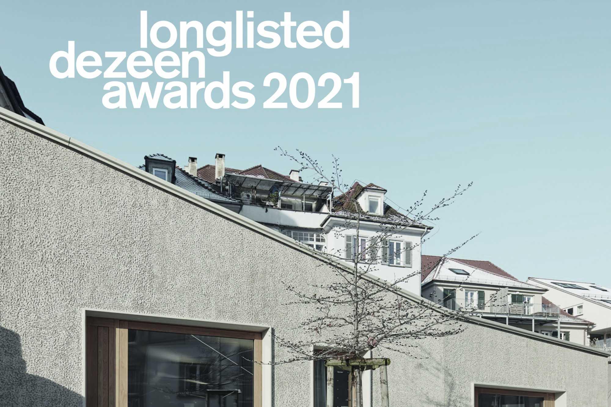 Dezeen Award 2021: Unser Projekt in der Pfleghofstraße hat den Sprung auf die ›longlist‹ geschafft ({project_images:field_row_count})