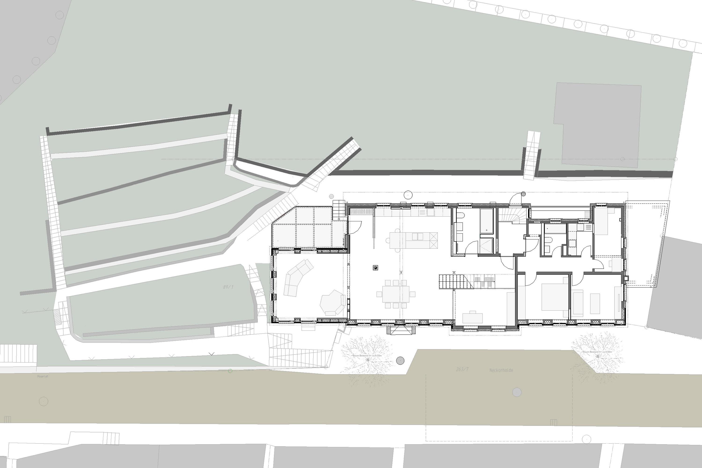 Kernsanierung und Anbau Wohn- und Geschäftshaus  (1)