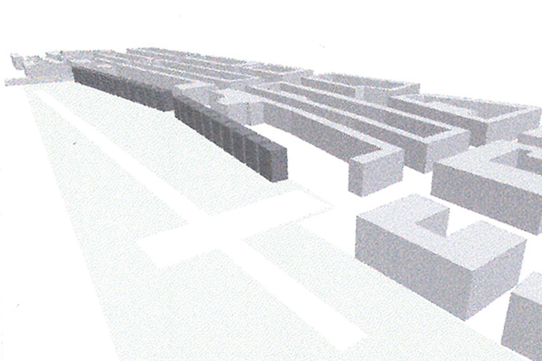 Wohnsiedlung an den Bahngleisen (3)
