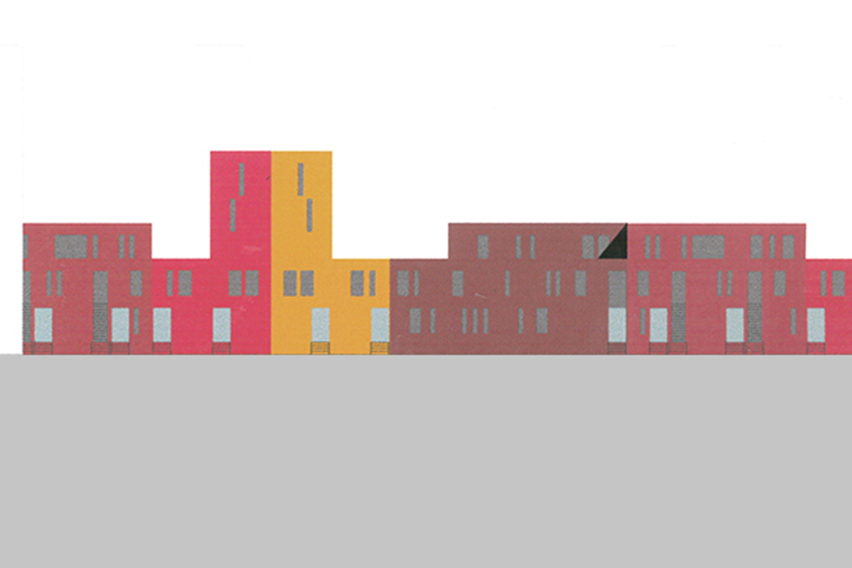 Wohnsiedlung an den Bahngleisen (5)