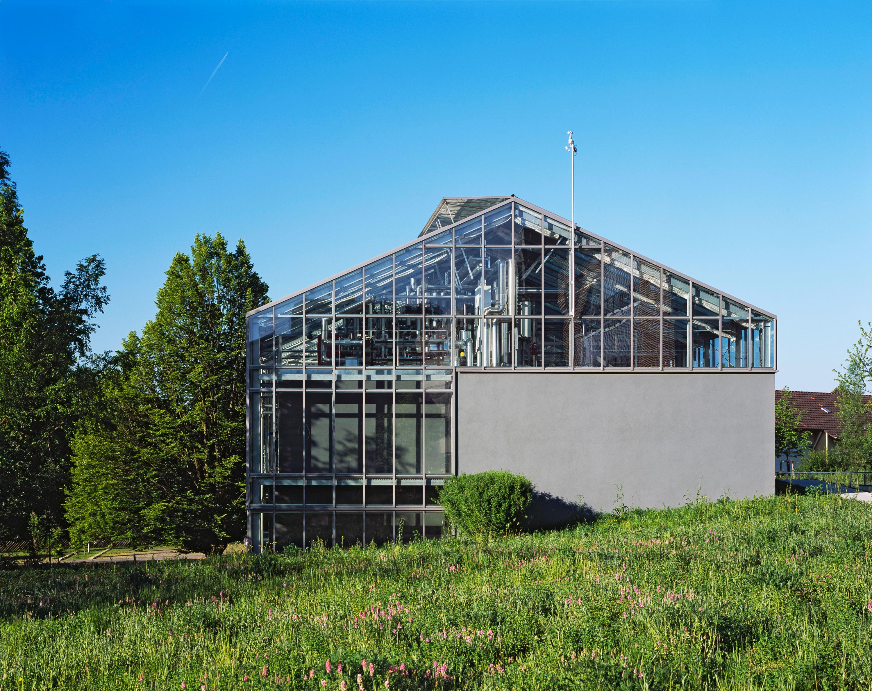 Gewächshaus zur Pflanzenforschung (1)