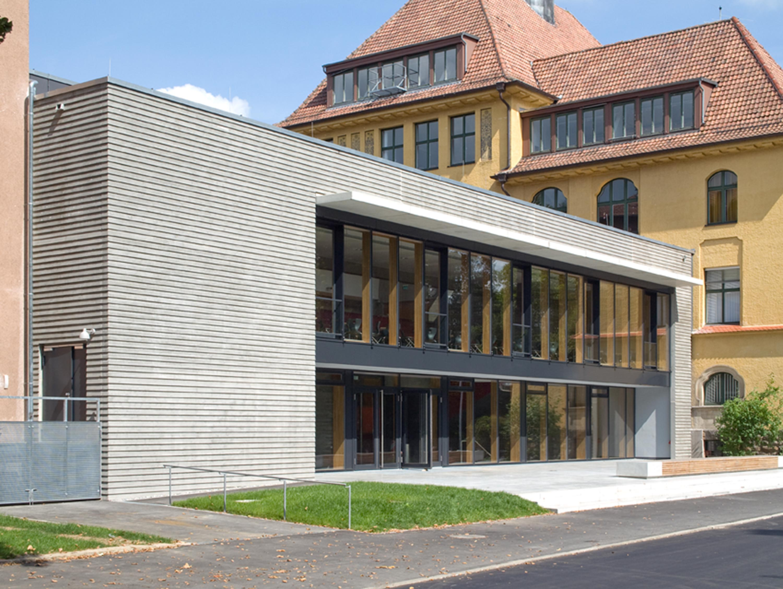Mensa mit Bibliothek und Aula Uhlandstraße (16)