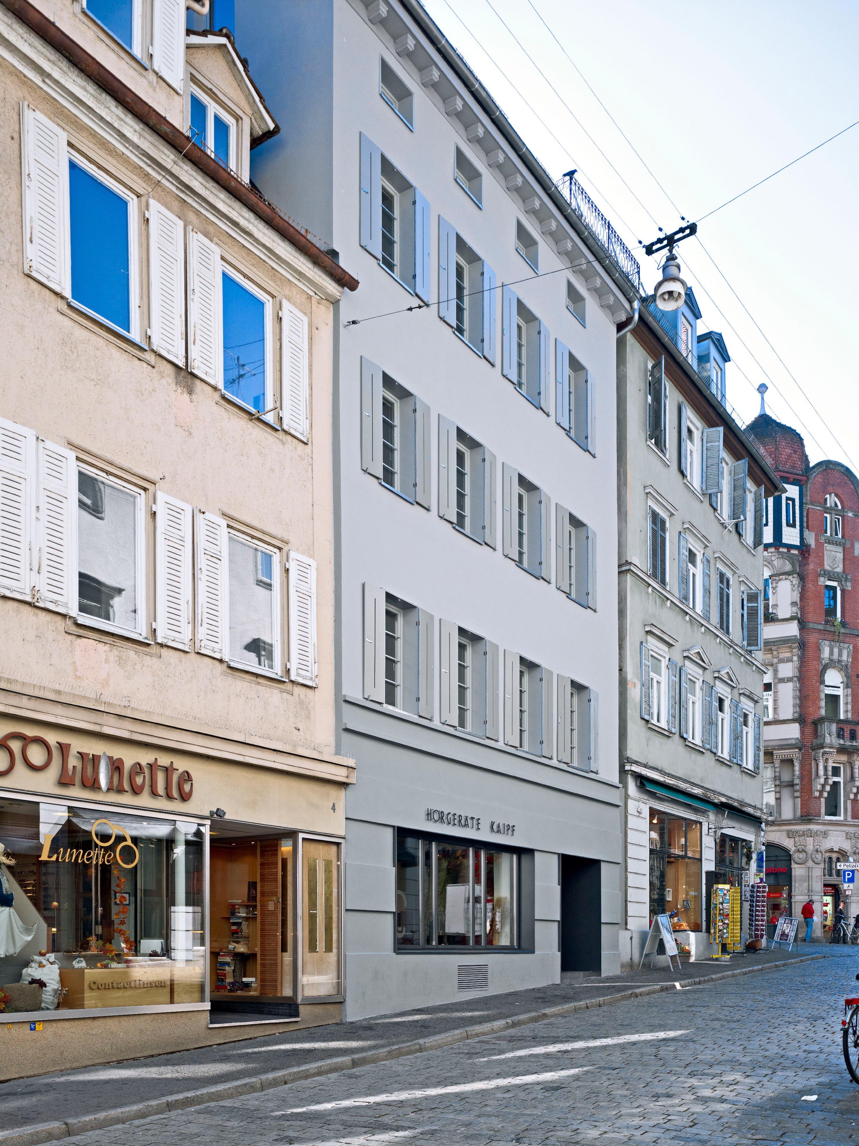 Energetische Sanierung Wohn- und Geschäftshaus (2)