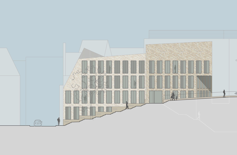 Bankgebäude mit Kassenhalle und Büros (1)