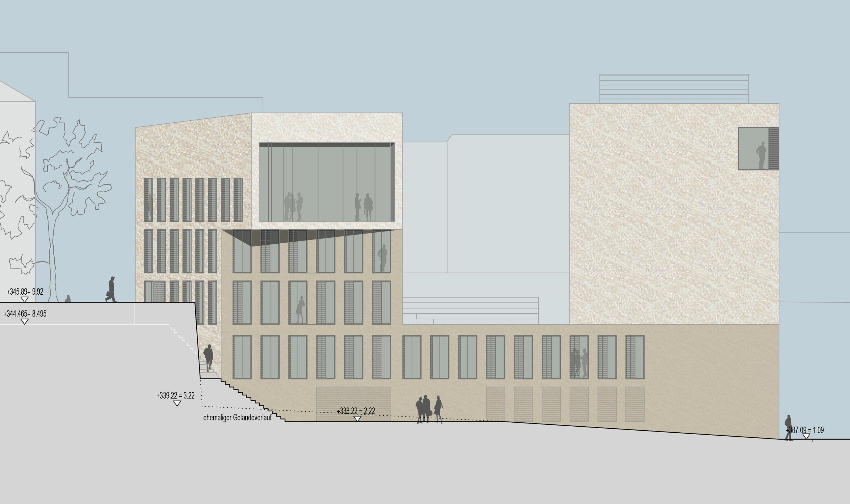 Bankgebäude mit Kassenhalle und Büros (2)