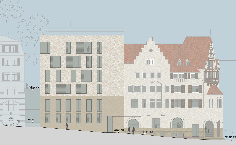Bankgebäude mit Kassenhalle und Büros (3)