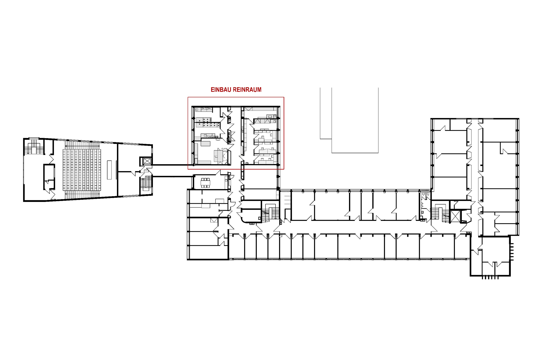Umbau Büros zu Reinräumen im Institut für Isotopengeochemie (1)