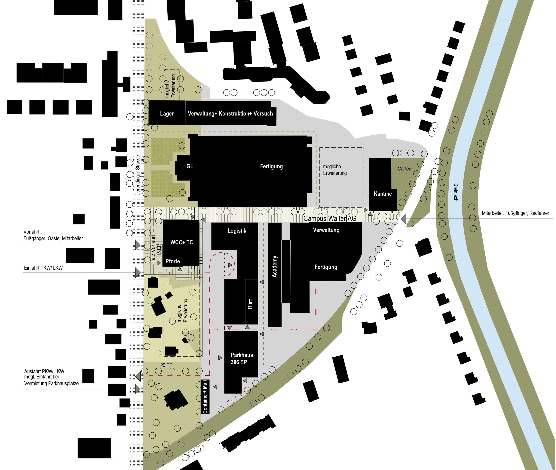 Betriebscampus mit Entwicklungszentrum und Kantine (4)