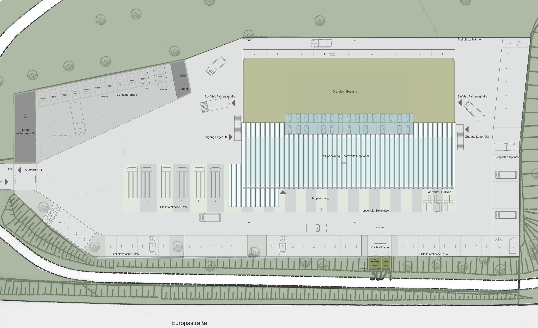 CO2-neutrales Werkstattgebäude und Betriebshof (2)