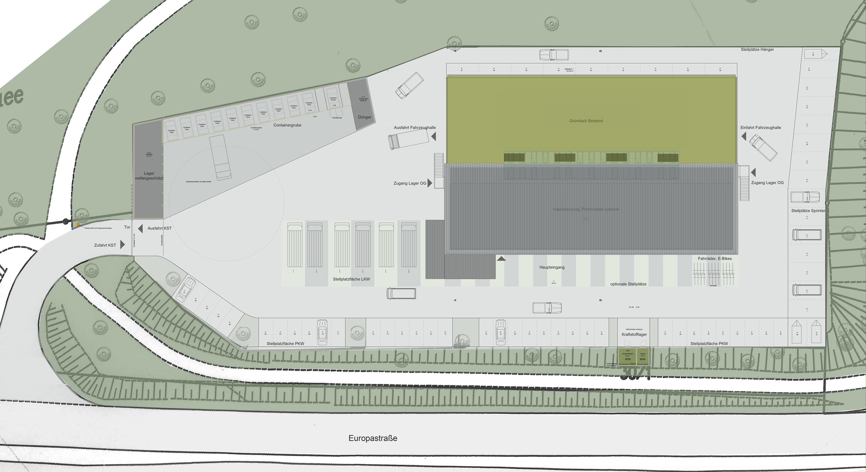 CO2-neutrales Werkstattgebäude und Betriebshof (4)
