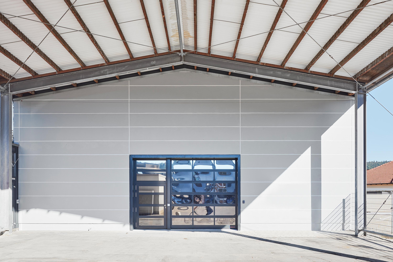 Umbau von Laborräumen zu Musterbauhalle für Einmalinstrumente (2)