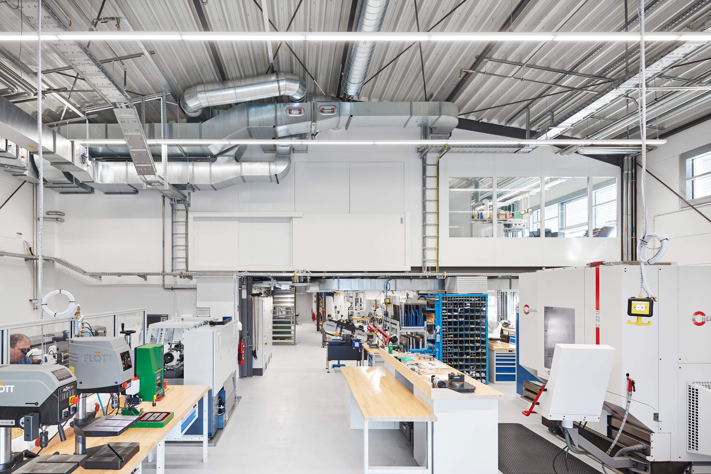 Umbau von Laborräumen zu Musterbauhalle für Einmalinstrumente (6)