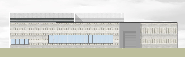 Flugplatz Laupheim, Neubau Lagergebäude (1)