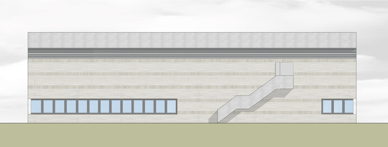Flugplatz Laupheim, Neubau Lagergebäude (2)