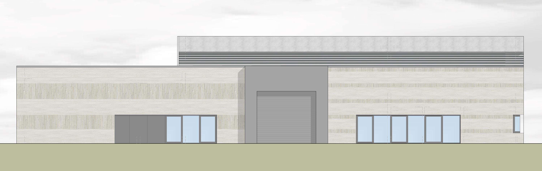 Flugplatz Laupheim, Neubau Lagergebäude (3)