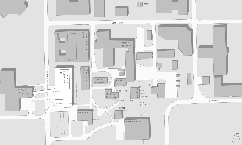 Institutsbau Centrum für fundamentale Physik (2)