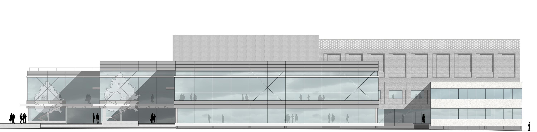 Sanierung Universitätsmensa in Baudenkmal mit Anbau (12)