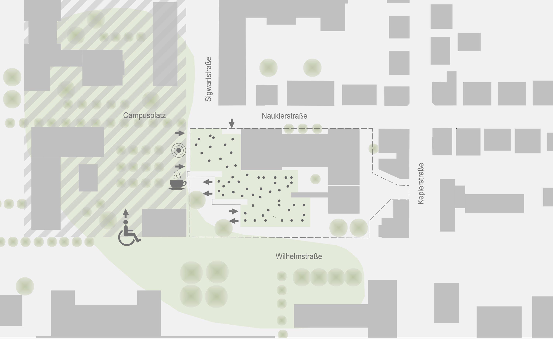 Sanierung Universitätsmensa in Baudenkmal mit Anbau (15)