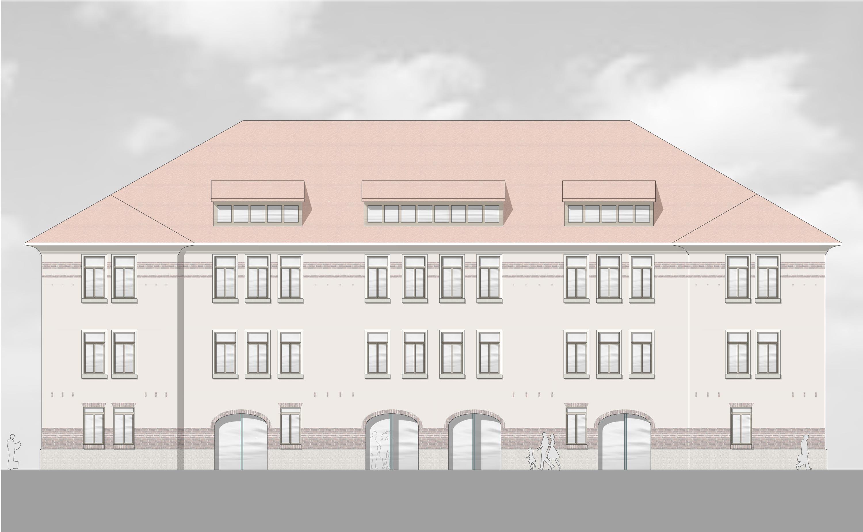 Denkmalpflegerische Sanierung und Umbau Amts-, Nachlass- und Betreuungsgericht (1)