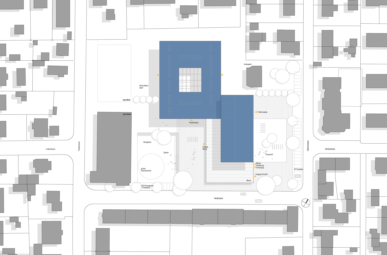 Sanierung und Erweiterung Eichendorff Schulverbund (3)