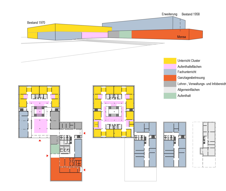 Sanierung und Erweiterung Eichendorff Schulverbund (4)