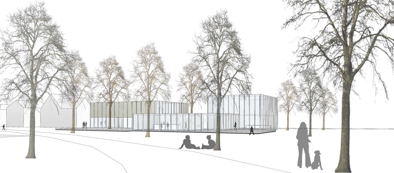 Neubau Jugendhaus, Projektskizze (1)