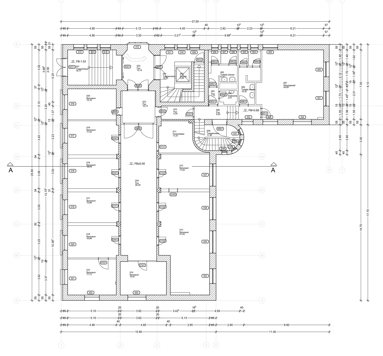 Umbau und denkmalpflegerische Sanierung Württembergischer Kreditverein (3)
