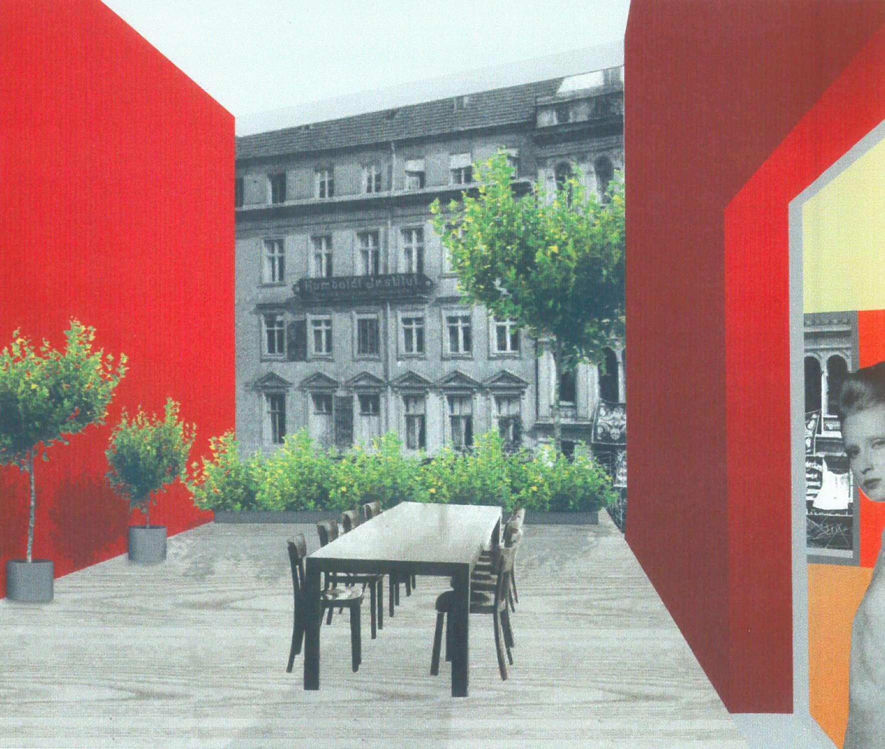 Studie Wohngebäude als Baustein im Block mit flexiblem Seitenflügel (4)