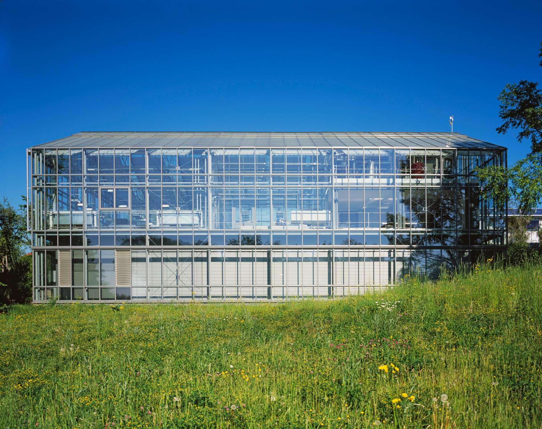 Gewächshaus zur Pflanzenforschung (2)