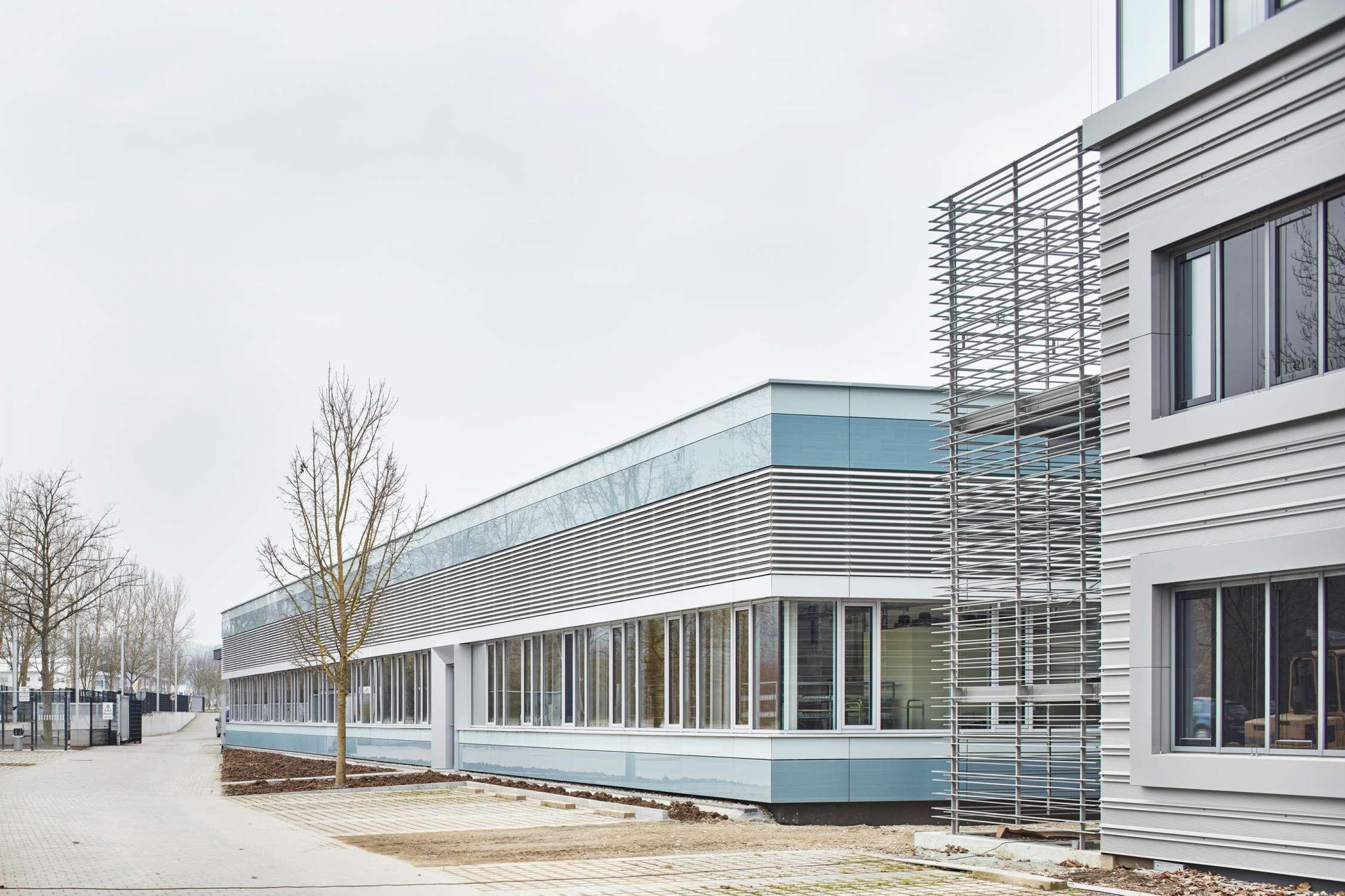 Energetische Sanierung und Brandschutzertüchtigung Produktionsstätte (2)