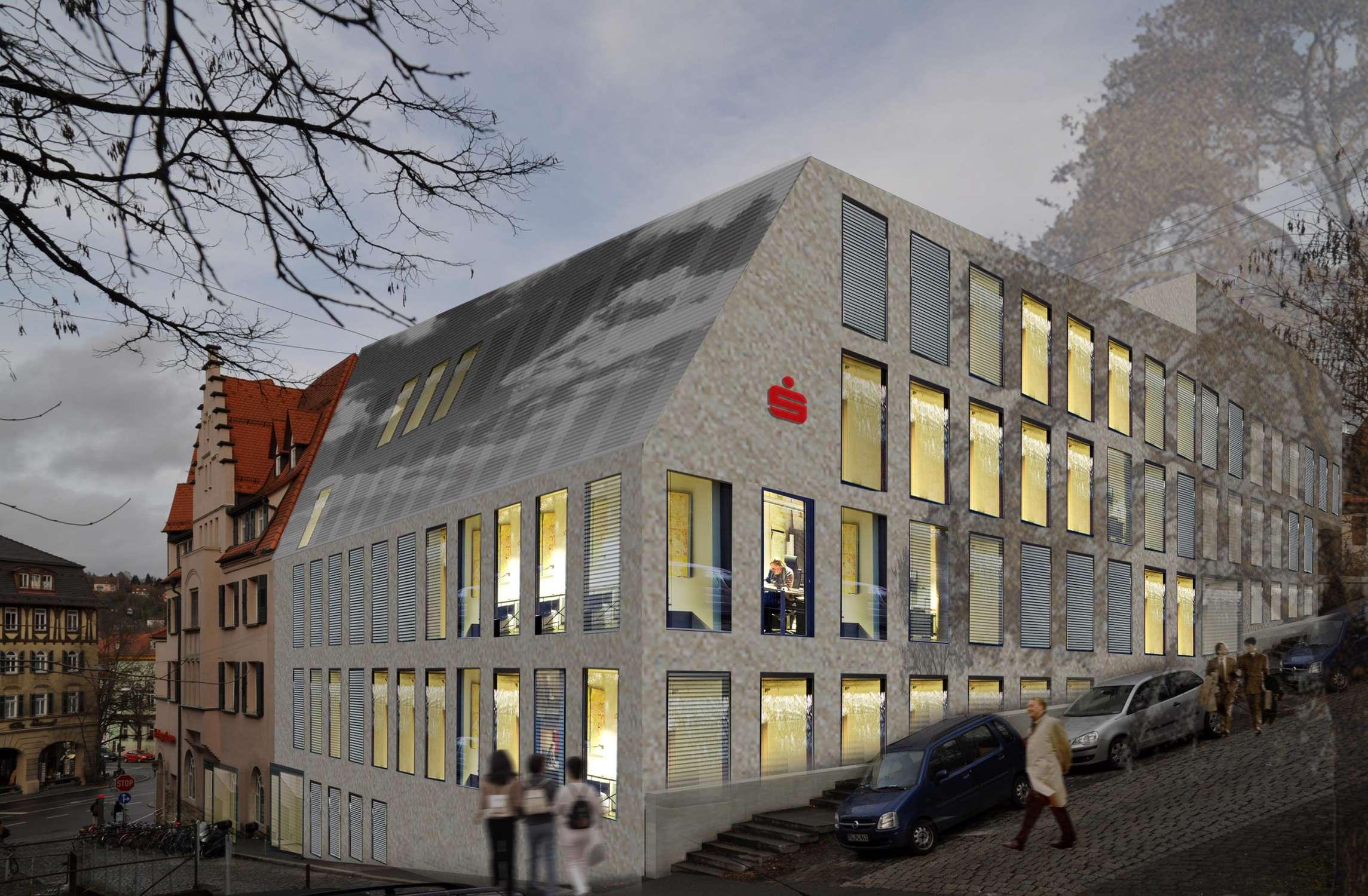 Bankgebäude mit Kassenhalle und Büros (6)