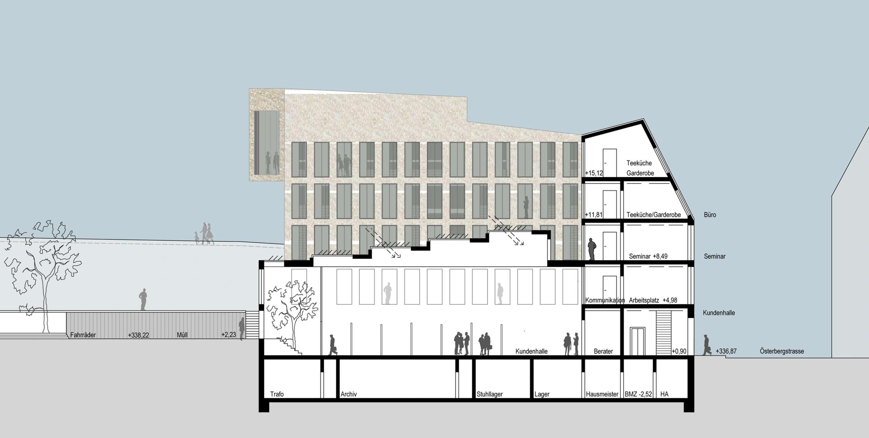 Bankgebäude mit Kassenhalle und Büros (5)