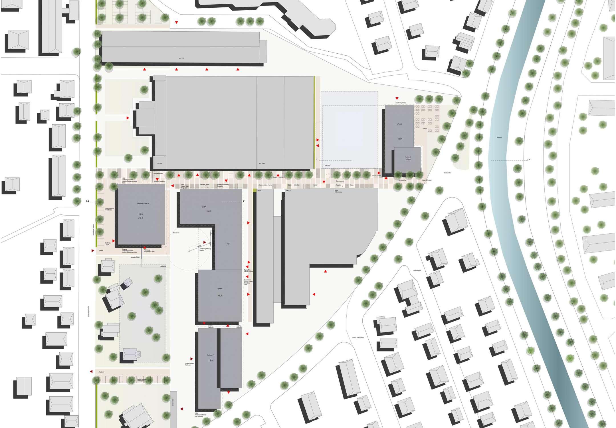 Betriebscampus mit Entwicklungszentrum und Kantine (1)