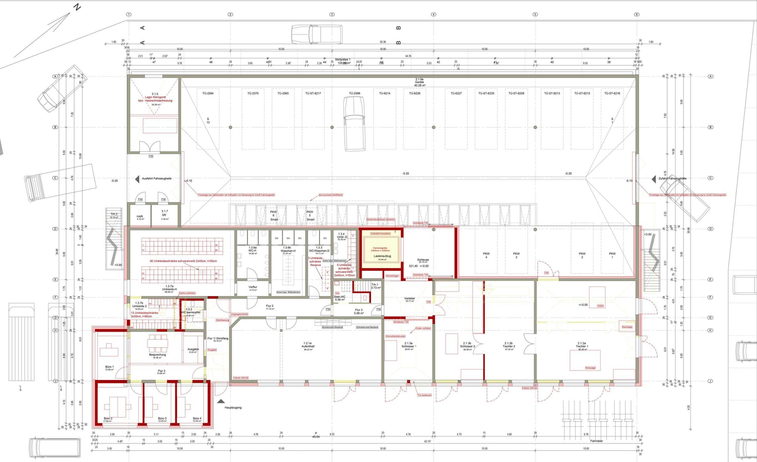 CO2-neutrales Werkstattgebäude und Betriebshof (3)