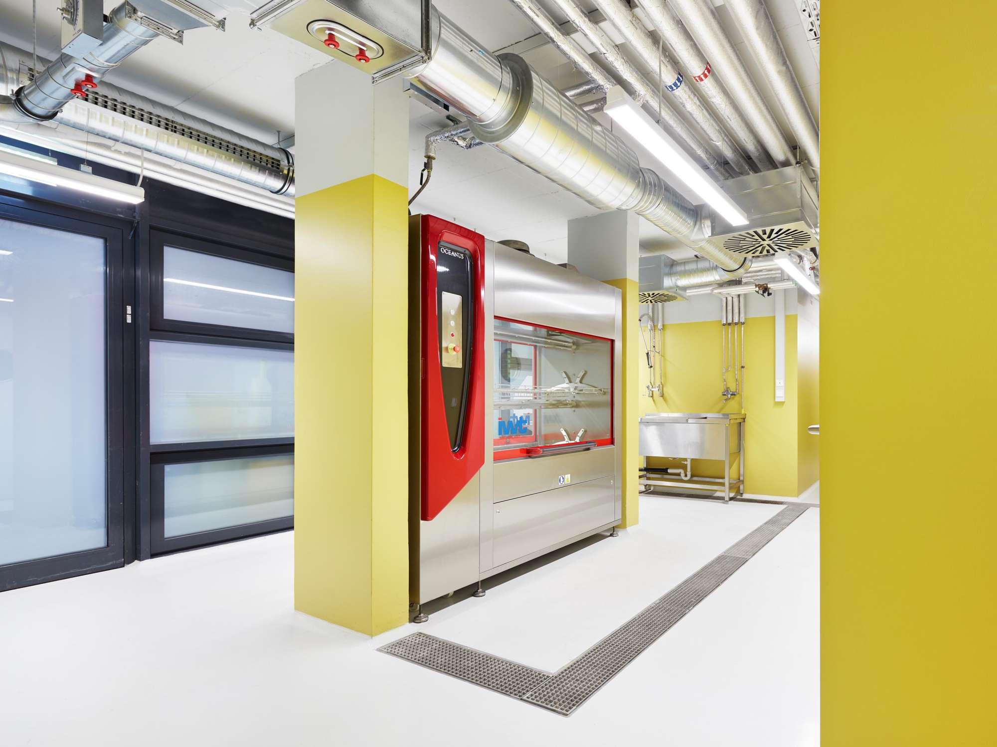 Forschungsflächen im Friedrich-Miescher-Laboratorium (1)