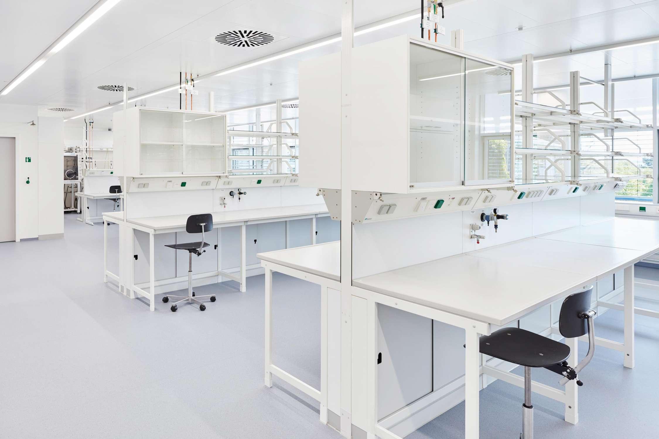 Laborflächen für die Mikrobiomforschung (1)