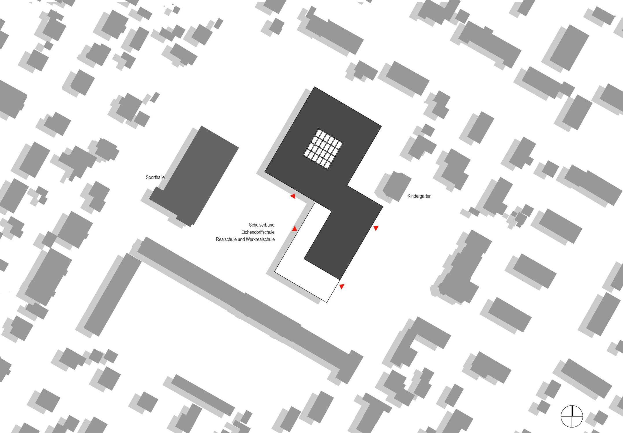 Sanierung und Erweiterung Eichendorff Schulverbund (2)
