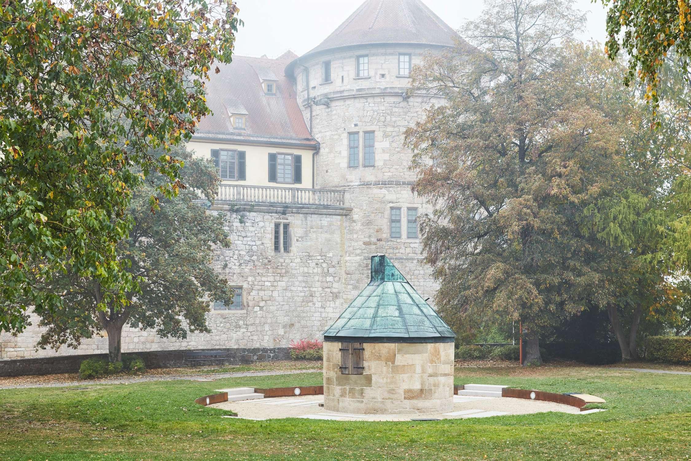 Johann Gottlieb Friedrich Bohnenberger Observatorium, Schloss Hohentübingen (6)