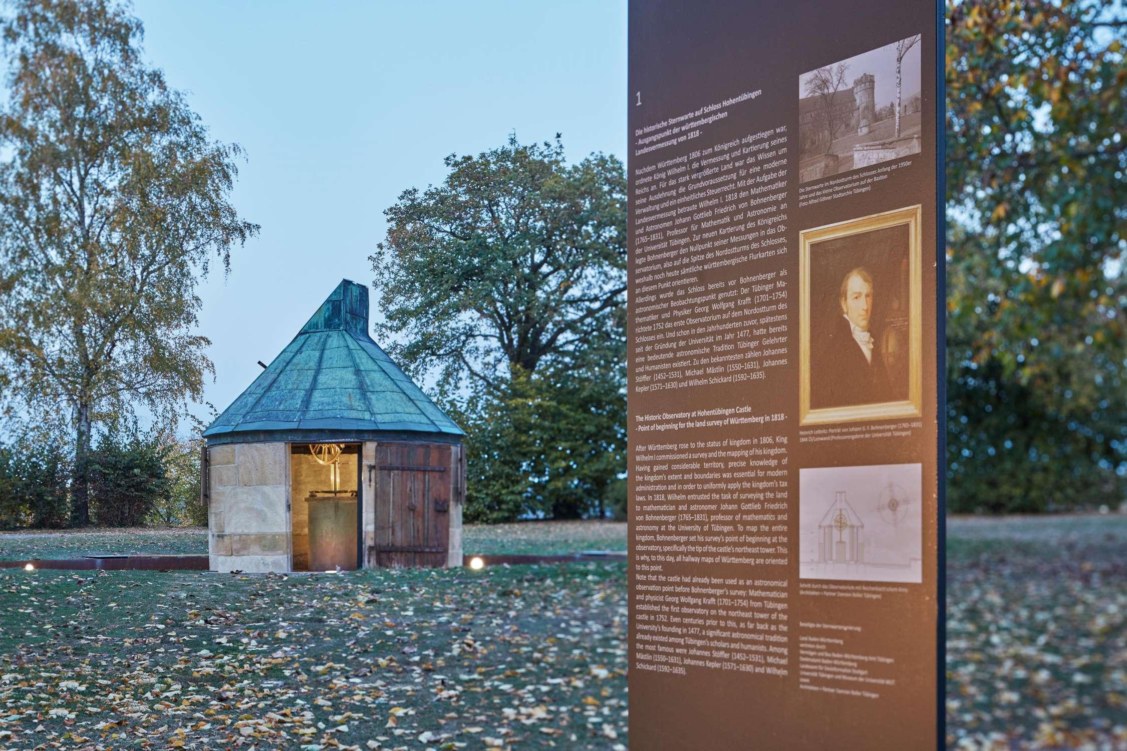 Johann Gottlieb Friedrich Bohnenberger Observatorium, Schloss Hohentübingen (4)