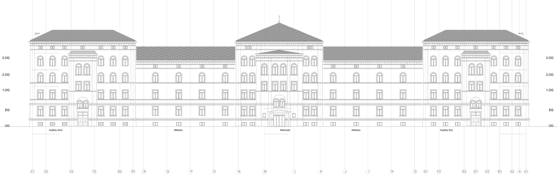 Brandschutz und denkmalpflegerische Sanierung Polizeistation Konstanz (1)