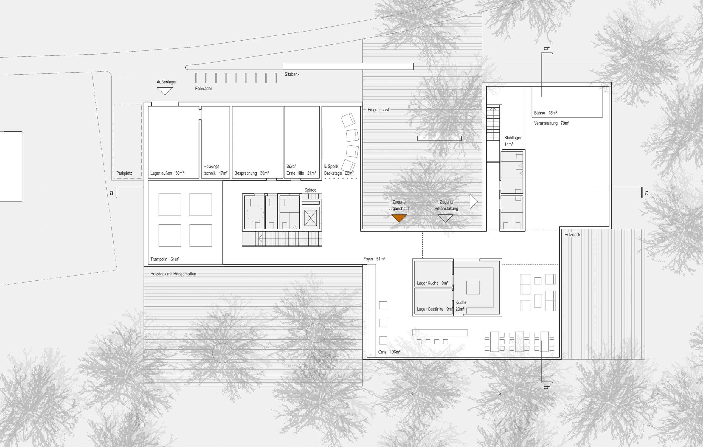 Neubau Jugendhaus, Projektskizze (5)