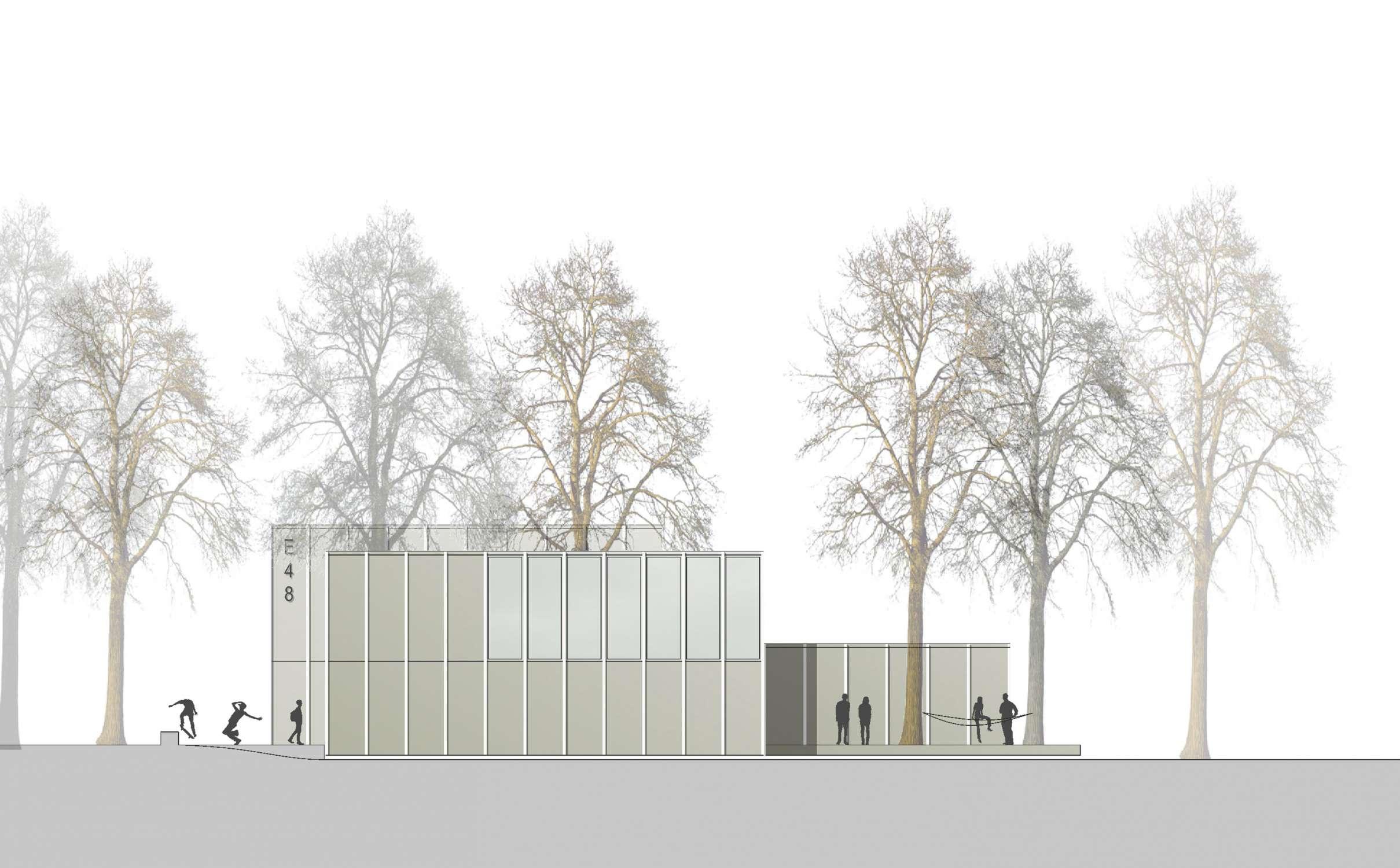 Neubau Jugendhaus, Projektskizze (8)