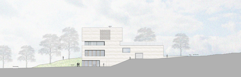 Neubau Zentralgebäude als Hörsaal, Mensa und Seminargebäude (9)