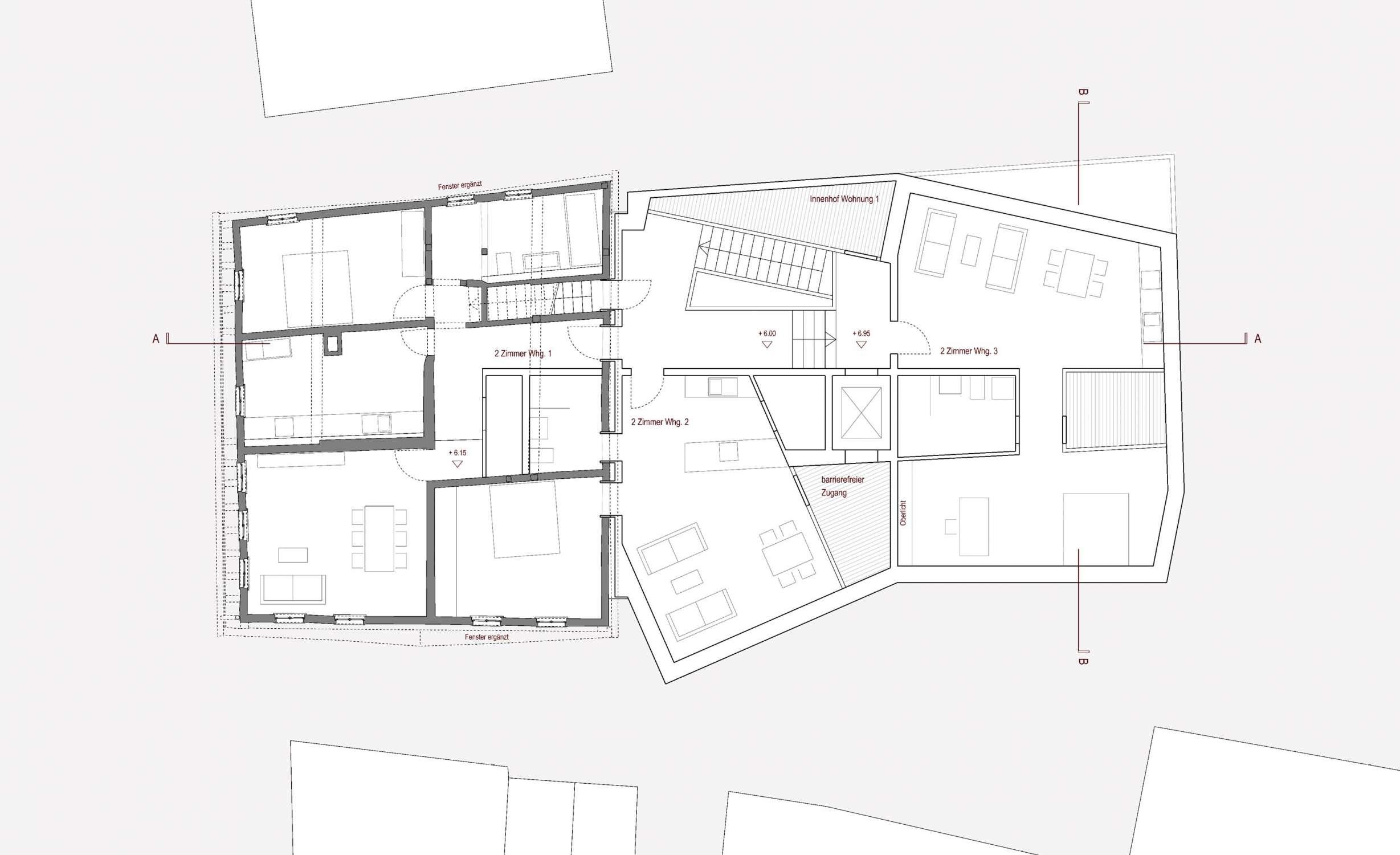 Gaststätte und Museum Traube, denkmalpflegerische Modernisierung, Umbau und Anbau (6)