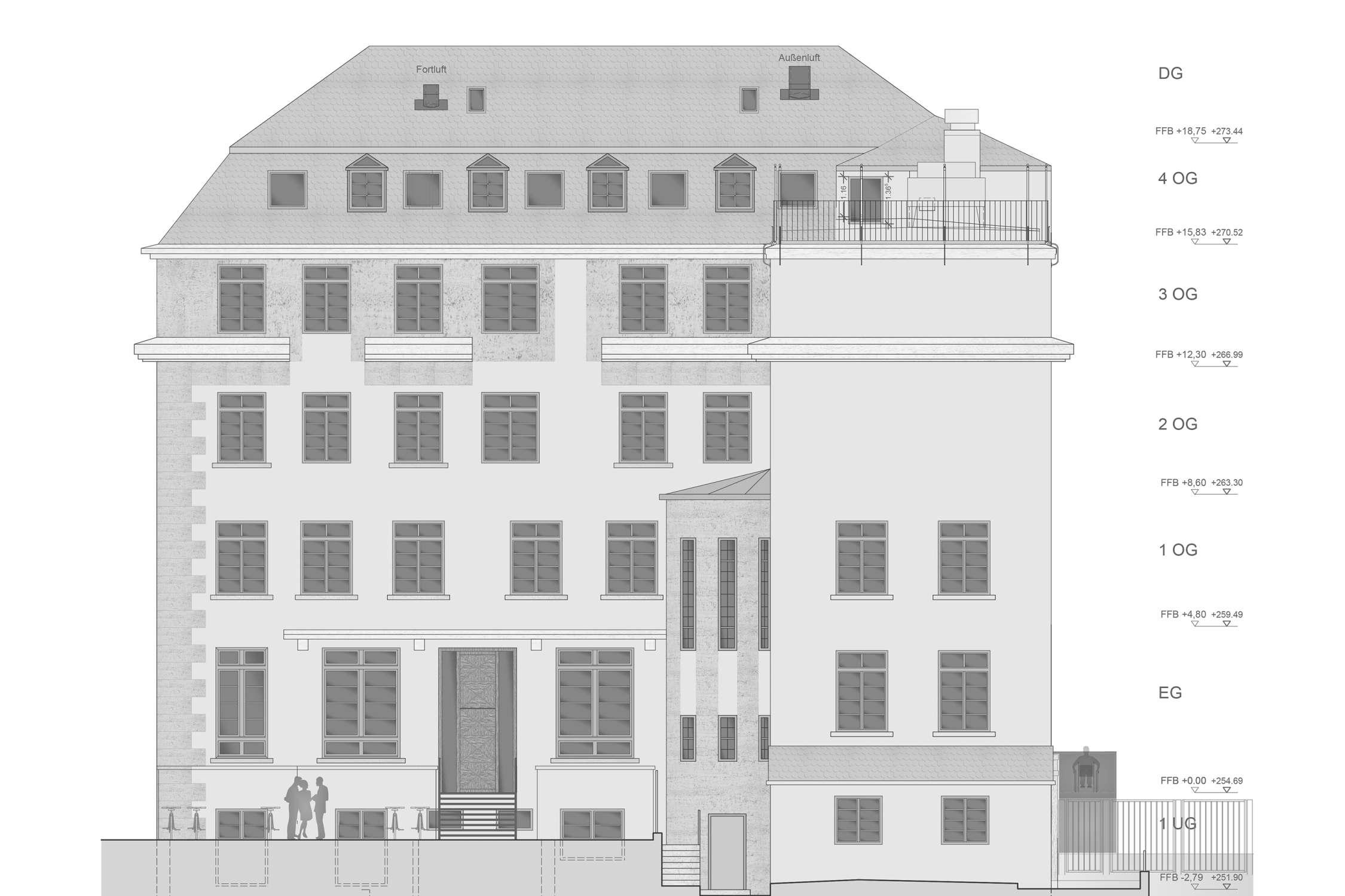 Umbau und denkmalpflegerische Sanierung Württembergischer Kreditverein (4)