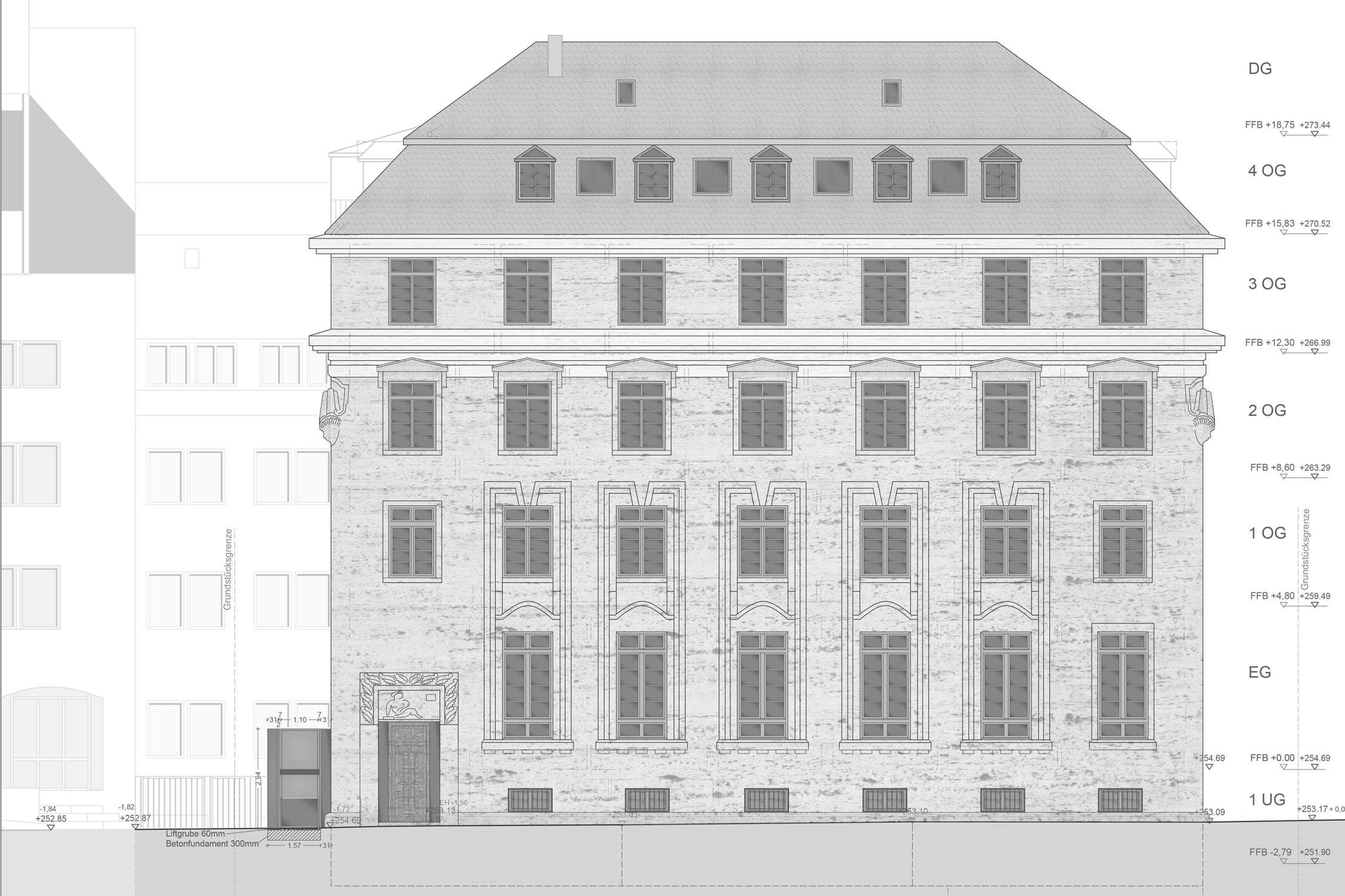Umbau und denkmalpflegerische Sanierung Württembergischer Kreditverein (2)